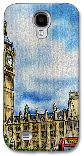 London England Big Ben Galaxy S4 Case