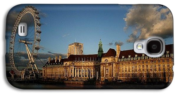 London Galaxy S4 Case - #london #londoneye #westminsterbridge by Ozan Goren