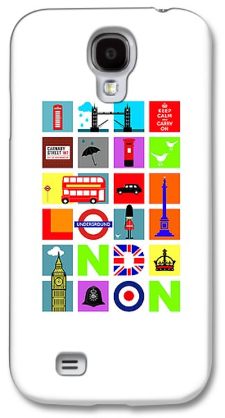 London Galaxy S4 Case by Mark Rogan
