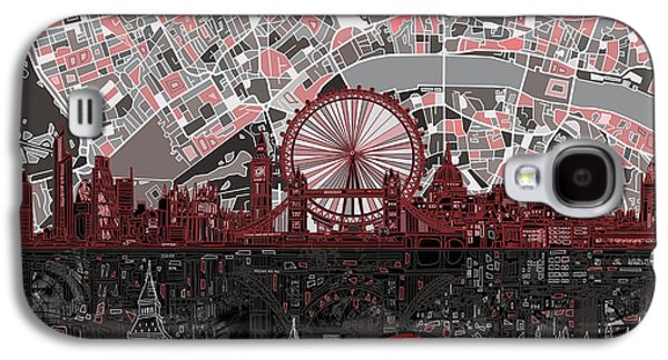London Skyline Abstract 6 Galaxy S4 Case