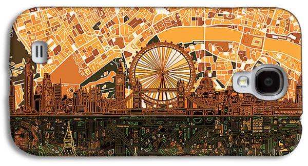 London Skyline Abstract 7 Galaxy S4 Case