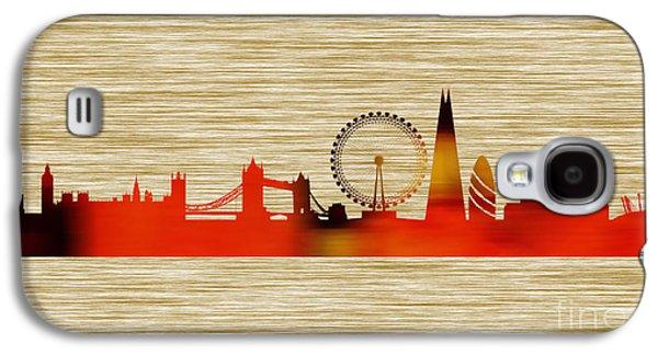 London Skyline Galaxy S4 Case by Marvin Blaine