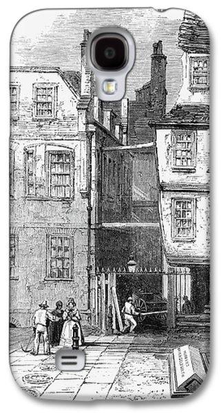 London Temple Church, 1860 Galaxy S4 Case by Granger