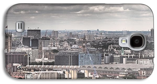 London Under Grey Skies Galaxy S4 Case by Rona Black