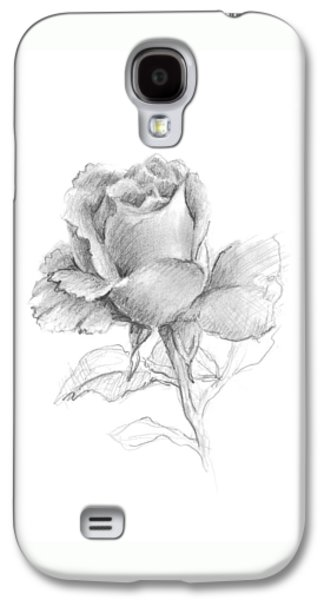 Lone Rose Galaxy S4 Case