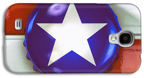 Lone Star Beer Galaxy S4 Case by Scott Norris