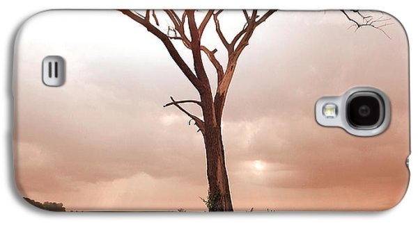 Galaxy S4 Case featuring the photograph Lonely Tree by Ricky L Jones