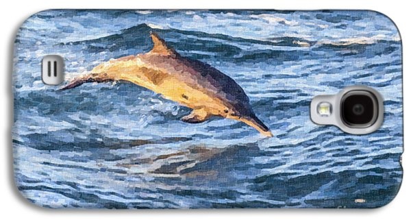 Long-beaked Common Dolphin Delphinus Capensis Galaxy S4 Case