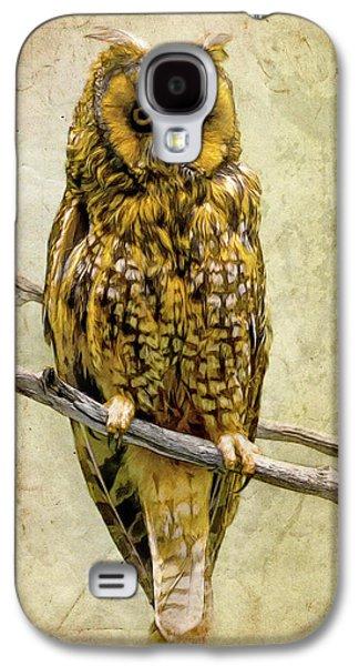 Long Eared Owl Galaxy S4 Case