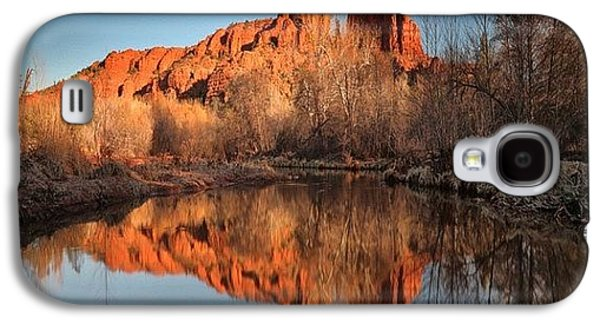 Long Exposure Photo Of Sedona Galaxy S4 Case by Larry Marshall