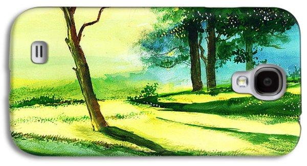 Long Horizon Galaxy S4 Case by Anil Nene