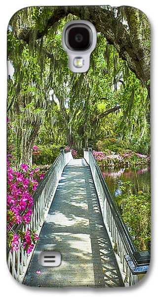 Long White Bridge Galaxy S4 Case by Bill Barber