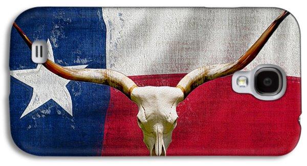 Longhorn Of Texas 2 Galaxy S4 Case by Jack Zulli