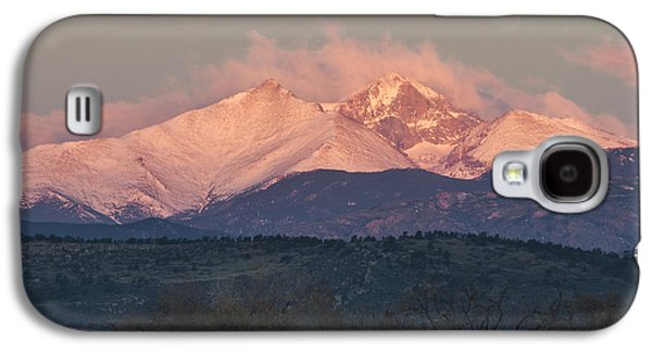 Longs Peak 1 Galaxy S4 Case by Aaron Spong