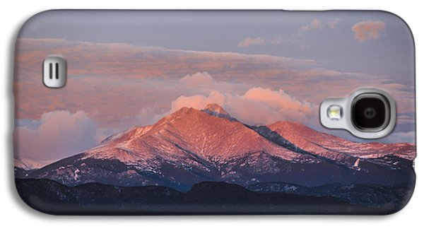 Longs Peak Sunrise Galaxy S4 Case by Aaron Spong