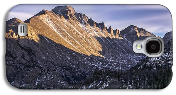 Longs Peak Sunset Galaxy S4 Case by Aaron Spong