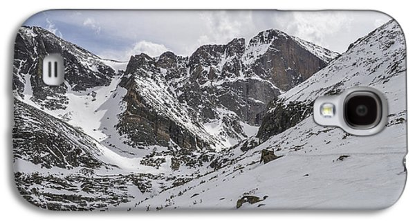 Longs Peak Winter Galaxy S4 Case by Aaron Spong