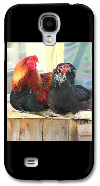 Look To The Left, Go To The Right  Galaxy S4 Case by Hilde Widerberg