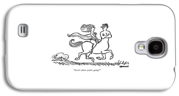 Look Where You're Going! Galaxy S4 Case