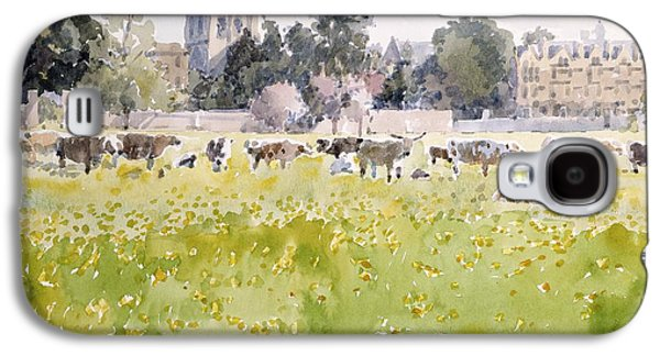 Looking Across Christ Church Meadows Galaxy S4 Case by Lucy Willis