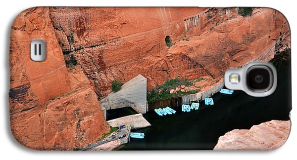 Looking Down At Glen Canyon  Galaxy S4 Case