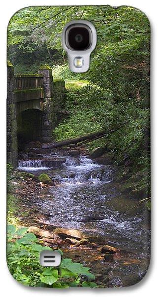 Looking Glass Creek - North Carolina Galaxy S4 Case by Mike McGlothlen