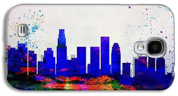 Los Angeles City Skyline Galaxy S4 Case