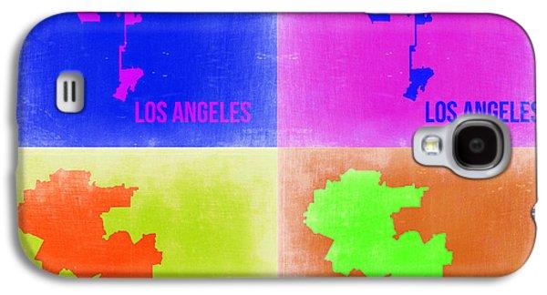 Los Angeles Pop Art Map 2 Galaxy S4 Case