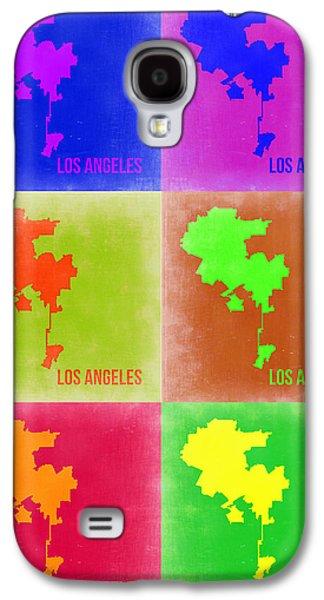Los Angeles Pop Art Map 3 Galaxy S4 Case