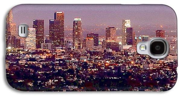 Los Angeles Skyline At Dusk Galaxy S4 Case