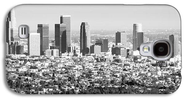 Los Angeles Skyline Panorama Photo Galaxy S4 Case by Paul Velgos