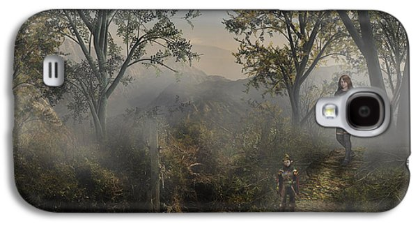 Lost In The Mist Galaxy S4 Case by Vjkelly Artwork