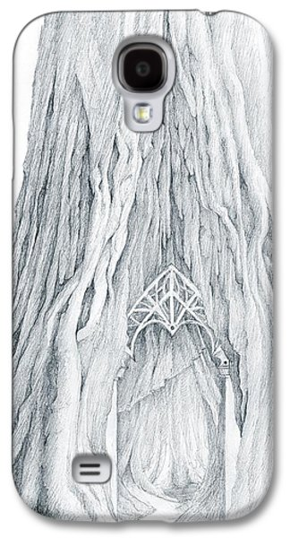 Lothlorien Mallorn Tree Galaxy S4 Case by Curtiss Shaffer