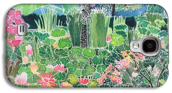 Lotus Pond Ubud Bali Galaxy S4 Case