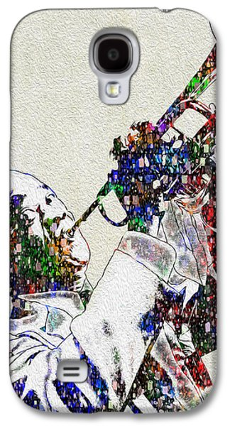 Louie Armstrong 2 Galaxy S4 Case by Jack Zulli