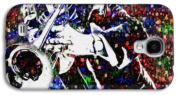 Louie Armstrong Galaxy S4 Case by Jack Zulli