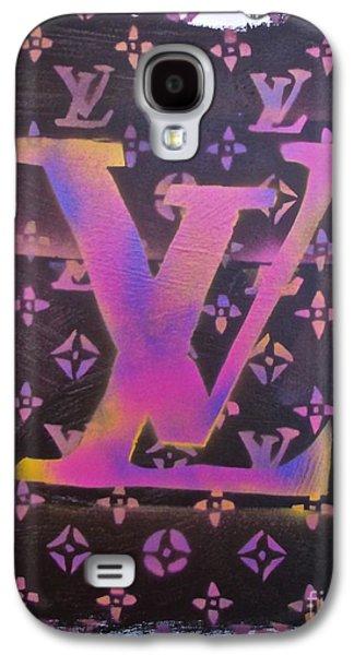 Louis Vuitton Print Galaxy S4 Case