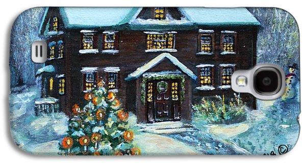 Louisa May Alcott's Christmas Galaxy S4 Case by Rita Brown