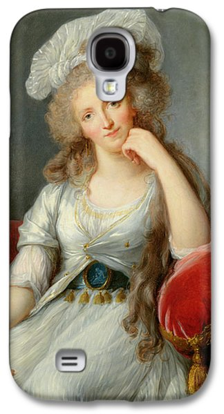 Louise-marie Adelaide, Duchesse Dorleans Oil On Canvas See Also 91622 Galaxy S4 Case by Elisabeth Louise Vigee-Lebrun