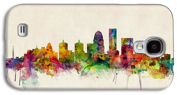 Louisville Kentucky City Skyline Galaxy S4 Case