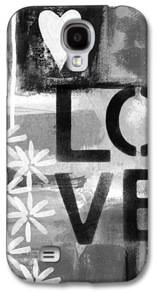Love- Abstract Painting Galaxy S4 Case