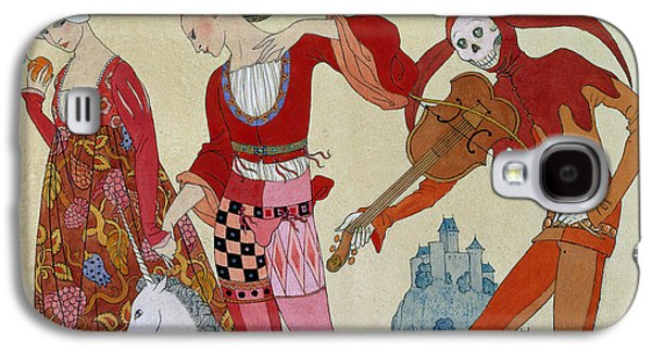 Swallow Galaxy S4 Case - Love Desire And Death by Georges Barbier