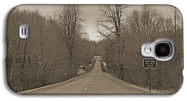 Love Gap Blue Ridge Parkway Galaxy S4 Case by Betsy Knapp