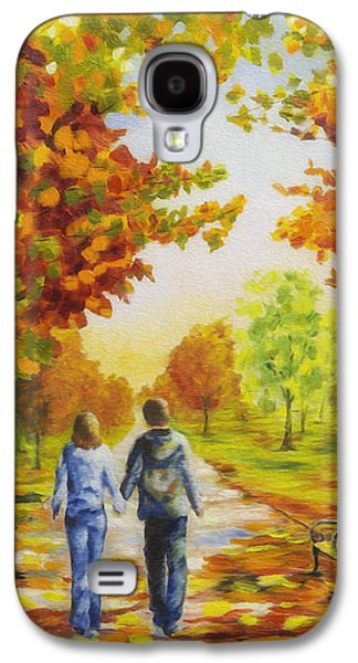 Love In Autumn Galaxy S4 Case