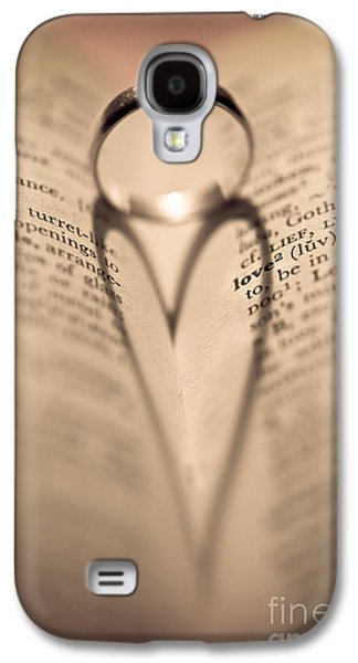 Love Galaxy S4 Case by Jan Bickerton