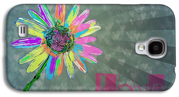 Love Galaxy S4 Case by Marianna Mills