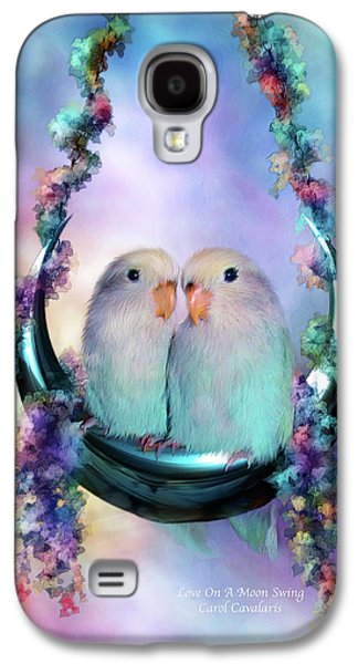 Love On A Moon Swing Galaxy S4 Case