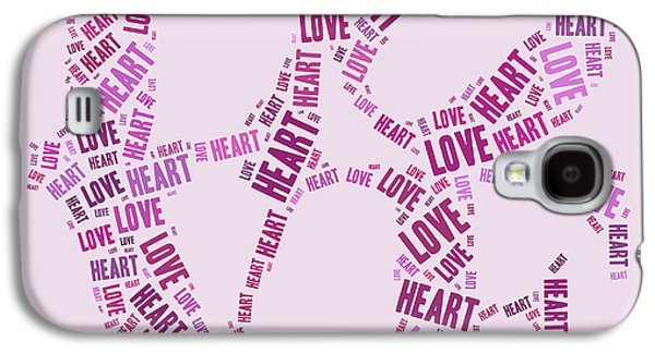 Love Quatro - Heart - S44b Galaxy S4 Case