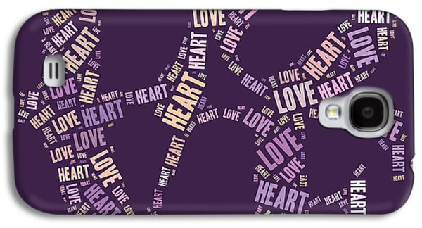 Love Quatro - Heart - S77a Galaxy S4 Case
