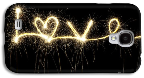 Love Shines Brightly Galaxy S4 Case by Tim Gainey